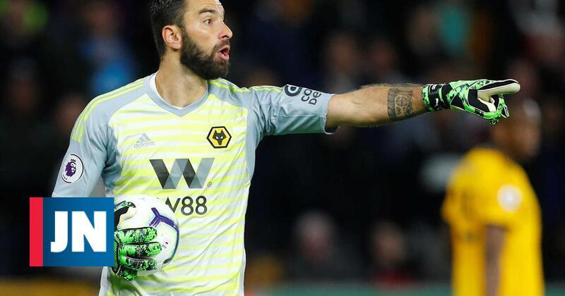 """Rui Patrício: """"Continuo a sofrer com os jogos do Sporting"""""""
