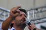 André Ventura, candidato pelo Chega às eleições presidenciais