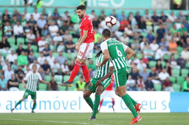 Veja os golos que vão dando vantagem ao Benfica frente ao Rio Ave