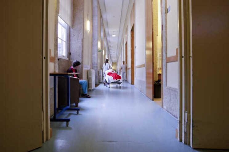 Centro hospitalar do Conde Ferreira no Porto com doentes mentais