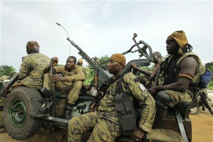 Man, oeste da Costa do Marfim, foi teatro de confrontos intensos durante a crise de 2002