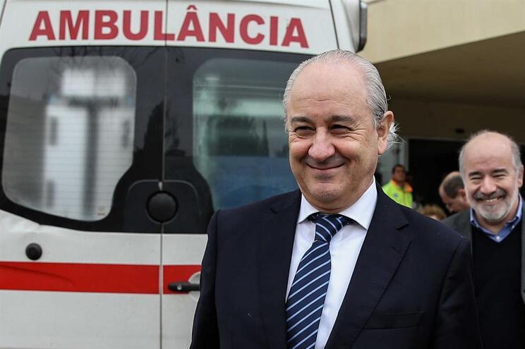 Rui Rio visitou Hospital de Faro