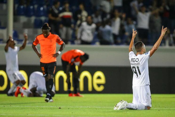Vitória de Guimarães vence Feirense e continua na Taça da Liga