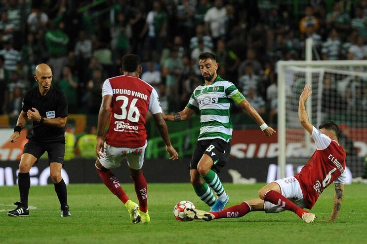 """Bruno Fernandes: """"Têm de sentir o medo de jogar com o Sporting"""""""