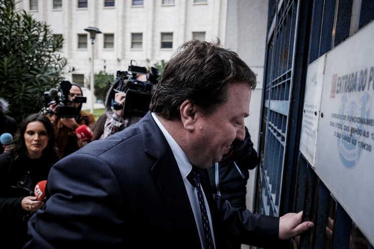 Carlos Santos Silva, arguido no caso Operação Marquês