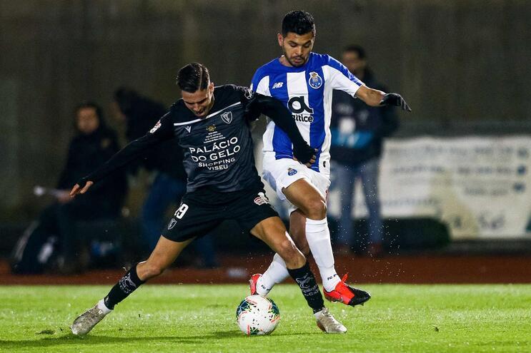 F. C. Porto e Académico de Viseu defrontam-se para a Taça de Portugal