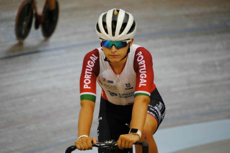 Maria Martins conquista medalha de bronze nos Europeus de pista