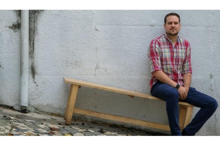 David Benhsain, psicólogo e cientista luxemburguês de visita a Lisboa