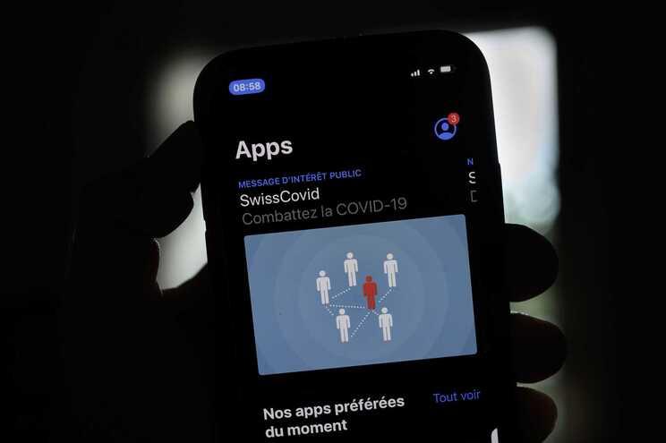 A aplicação utilizada na Suíça para rastrear contactos