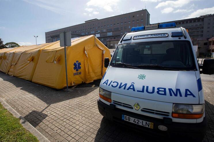 Hospital de S. João, no Porto