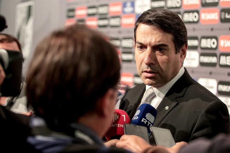 """Miguel Pinto Lisboa: """"O jogo ficou condicionado por uma decisão inexplicável"""""""