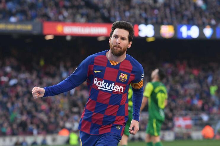 Lionel Messi marcou quatro golos