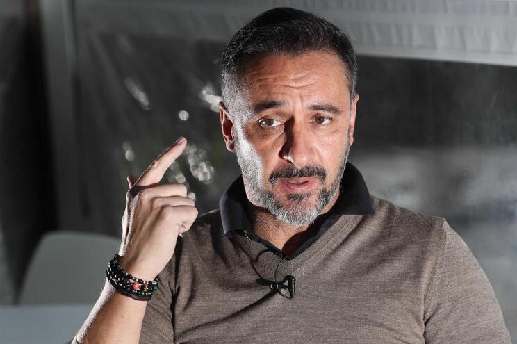 O treinador Vítor Pereira