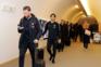 Frio e aplausos na chegada de Portugal ao Luxemburgo