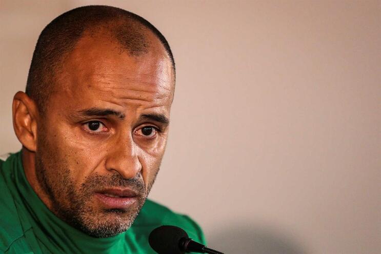Jorge Silas, treinador do Sporting