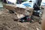 Deslizamento de terras destrói carro com condutora no interior em Lousada