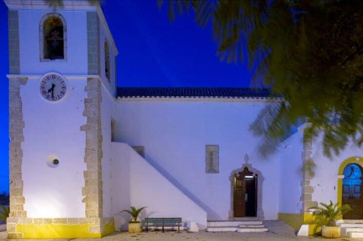Igreja de Alvor à noite