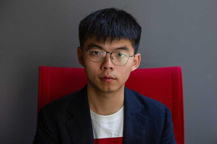 Ativista pró-democracia Joshua Wong