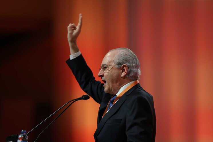 Rui Rio discursa no 37.º congresso do PSD