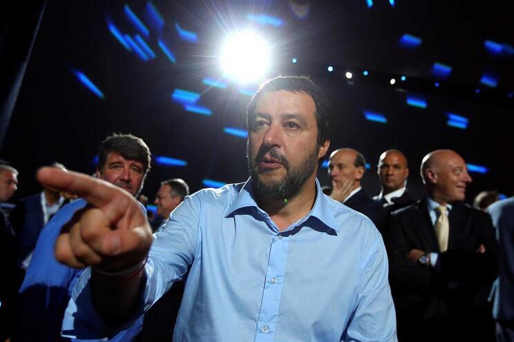 Ministro do Interior italiano, Matteo Salvini