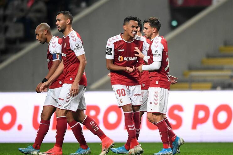 O Braga subiu ao quinto lugar da classificação