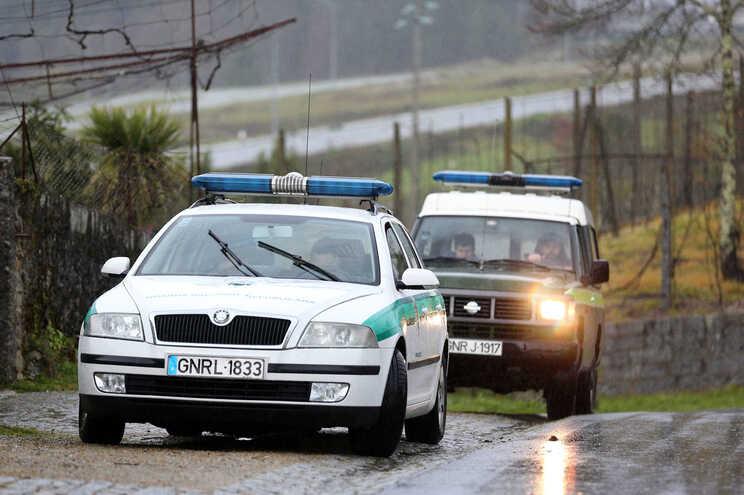 Durante a detenção, um militar da GNR acabou ferido