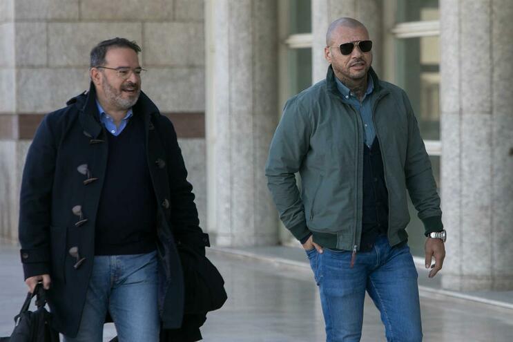 """""""O sentimento é de tristeza, porque foram nove meses [de prisão preventiva]"""", disse Nuno Mendes (""""Mustafá"""")"""