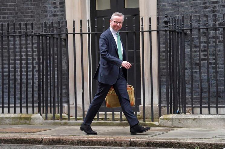 Michael Gove, ministro britânico do Conselho de Ministros, tinha já admitido que negociações podiam ser