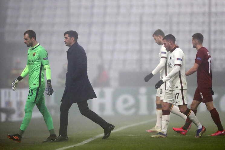 Paulo Fonseca apurou a AS Roma