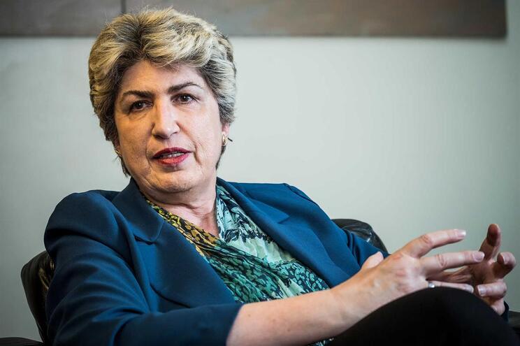 A eurodeputada Maria João Rodrigues
