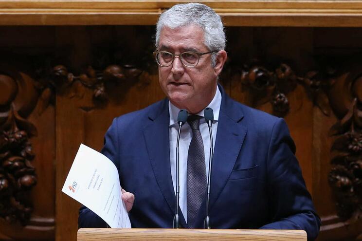 O líder parlamentar do PSD, Fernando Negrão