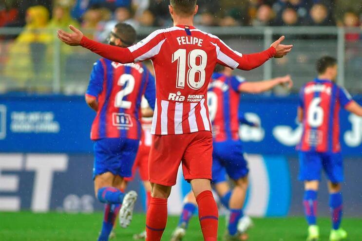Felipe foi titular em 25 jogos do Atlético Madrid esta época