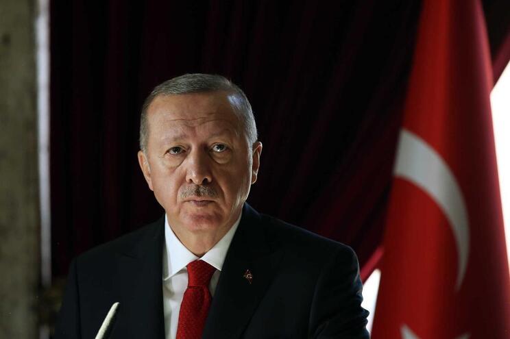 O presidente turco, Recep Tayyip Erdogan