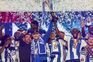 Casillas foi chamado a levantar a Taça de Portugal conquistada pela equipa portista