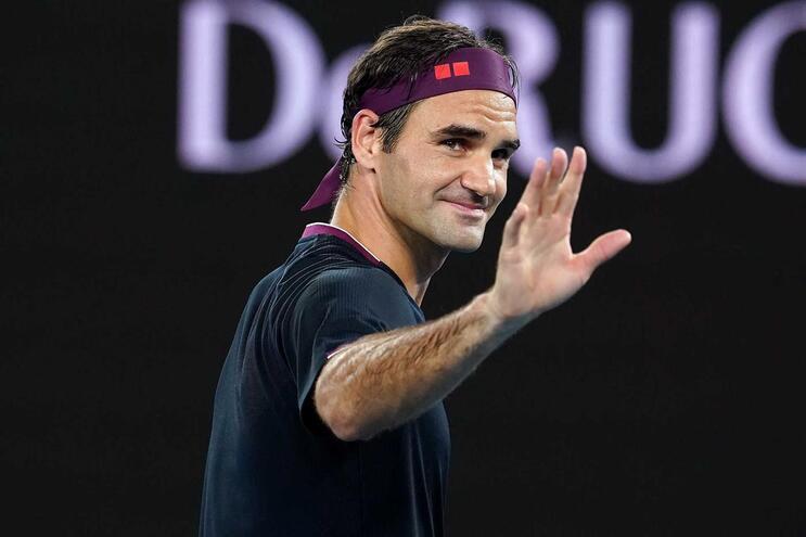 Roger Federer entrou a ganhar no Open Austrália