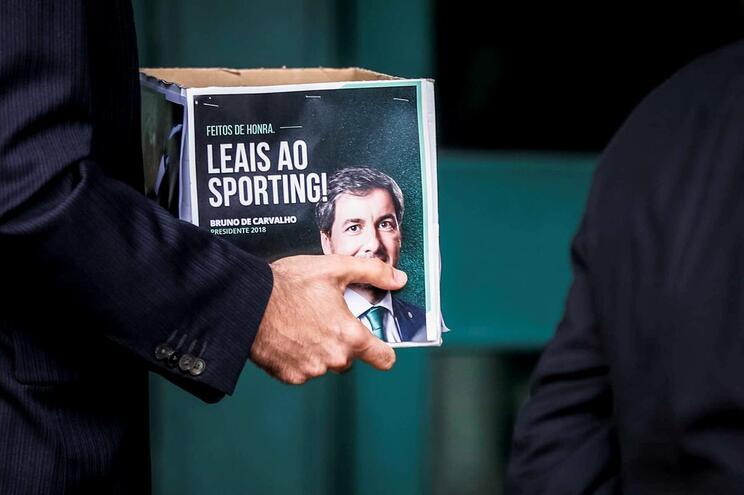 Bruno de Carvalho vai impugnar eleições no Sporting