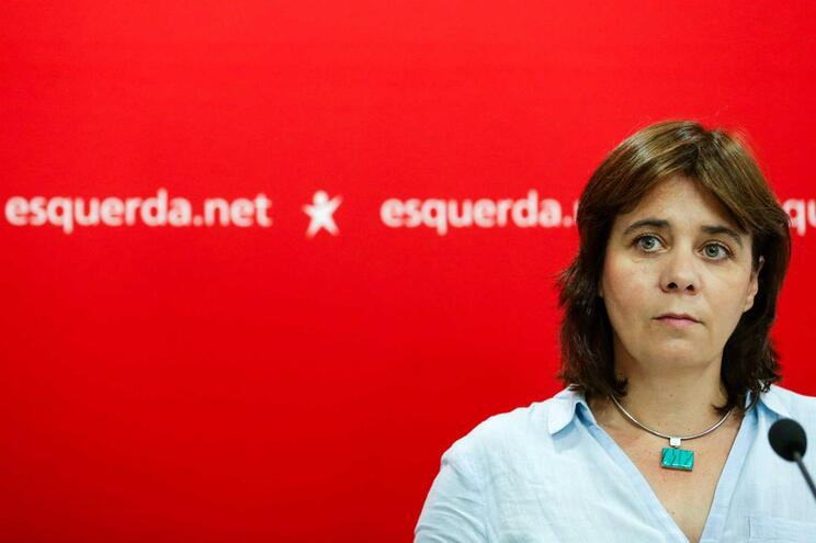 Catarina Martins, coordenadora do Bloco de Esquerda