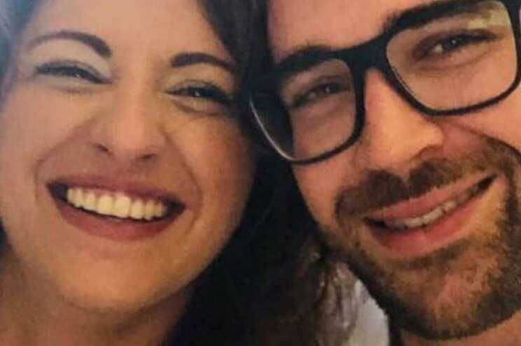 Ângela Ferreira e Hugo Neves