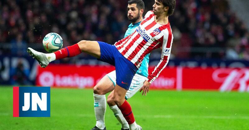 Atlético Madrid com Félix titular regressa às vitórias