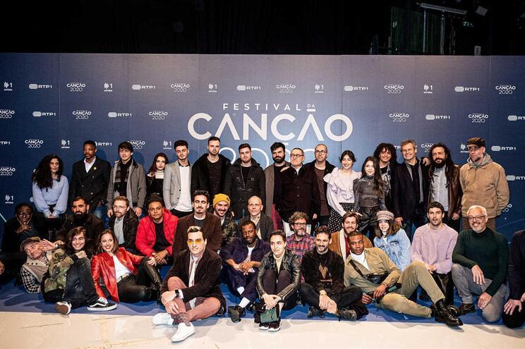 Ouça as músicas candidatas ao Festival da Canção 2020
