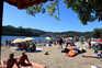 No último fim de semana, 25 praias com lotação igual ou superior a duas mil pessoas atingiram a ocupação