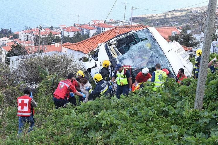 11 dos 27 feridos do acidente na Madeira tiveram alta