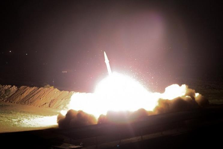 Irão lançou ataque com dezenas de mísseis terra-terra