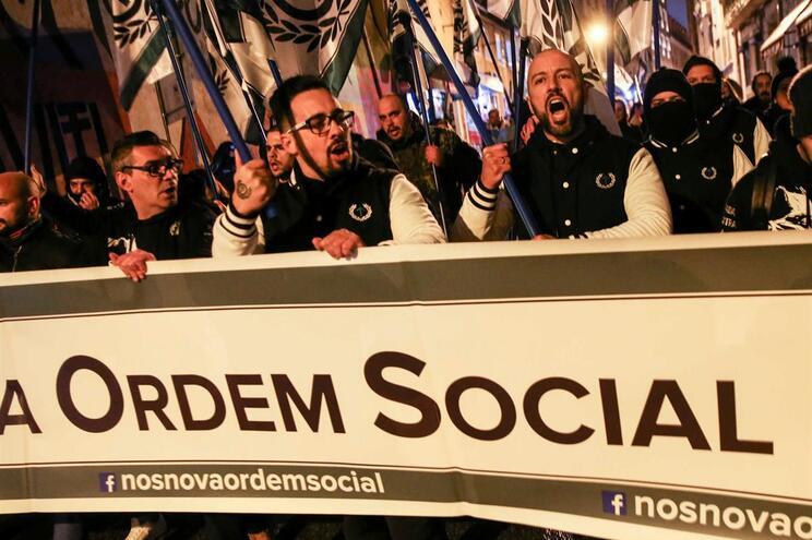 O recém-criado movimento neonazi Nova Ordem Social