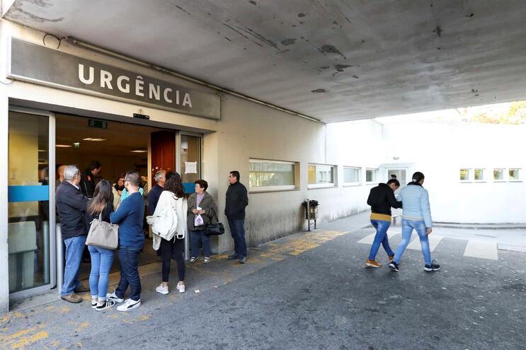 Urgências do Hospital Santos Silva, em Gaia