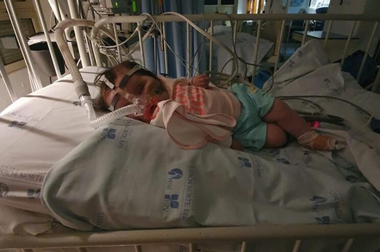 Matilde foi a primeira bebé em Portugal a receber o medicamento