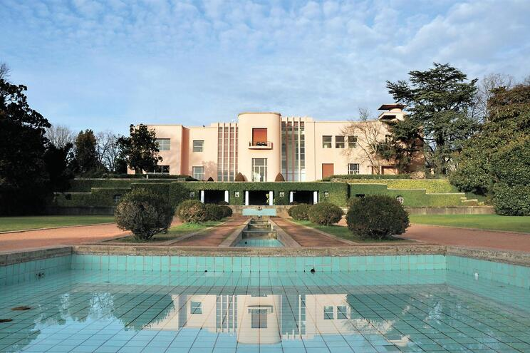 Porto, 09/12/2012 - Reportagem sobre a classificação de Serralves como monumento nacional. Fachada da