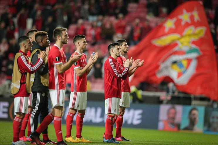 Benfica é a 8.ª equipa no mundo que mais vence depois de marcar primeiro