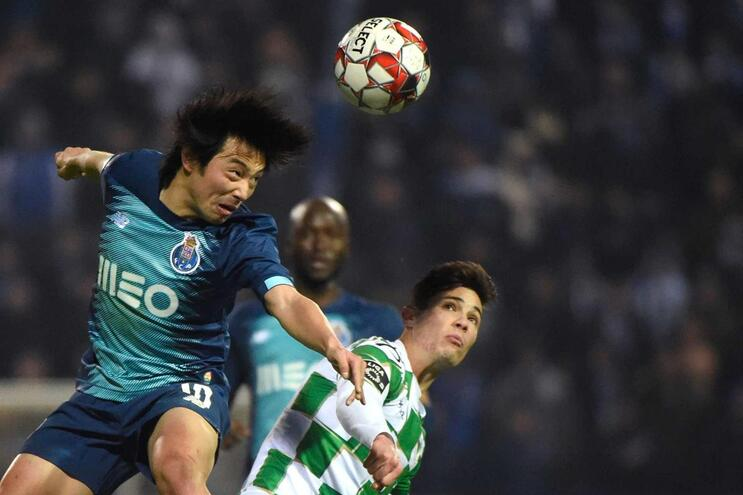 Nakajima, jogador do F. C. Porto