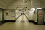 O homem abrigava-se na estação de metro de Westminster